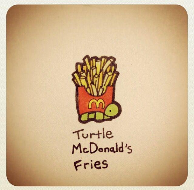Turtle McDonald's Fries