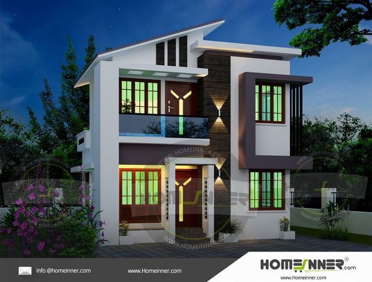 900 Sq Ft Small Indian Home Design Small House Design House Design House Small house plan in india