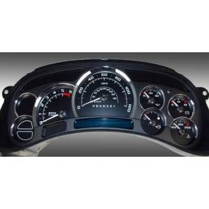 2006 Chevy Silverado 1500 US Speedo Escalade Edition Gauge Face Kits - Replacement Gauge Face Kit