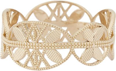 Grace Lee Gold Lace Aztec Ring - Rings - Barneys.com