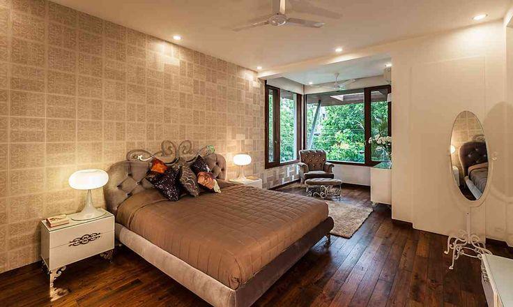 Bedroom Design; Residence by architect kumar moorthy associates