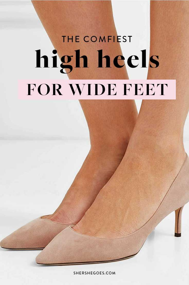 The Most Comfortable Heels You Can Actually Walk In 2020 In 2020 Comfortable Heels Heels Comfortable High Heels