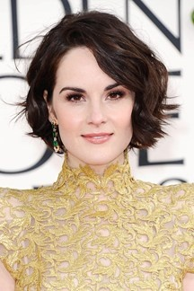 Golden Globe 2013 – Make-Up Hair Beauty - Michelle dockery perfection