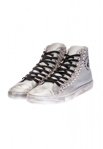 Undersolo Scarpe Sneakers Unisex | Special Steel Borchiate #shoes #sneakers #steel #acciaio #borchie #studs #studded
