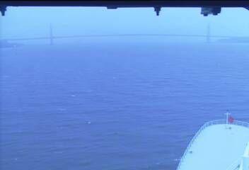 Queen Mary 2 - Bridge (Forward) Webcam / Camera Verrazano Narrows Bridge