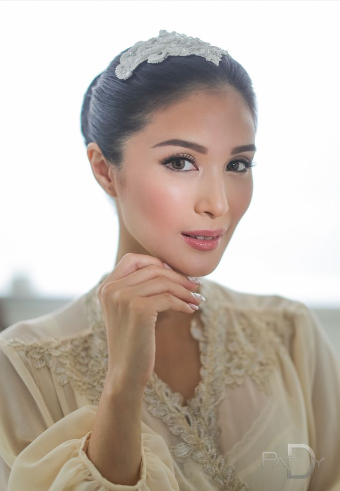 Image Result For Wedding Hair And Makeup Philippines Heart Evangelista Wedding Celebrity Weddings Bridal Hair And Makeup