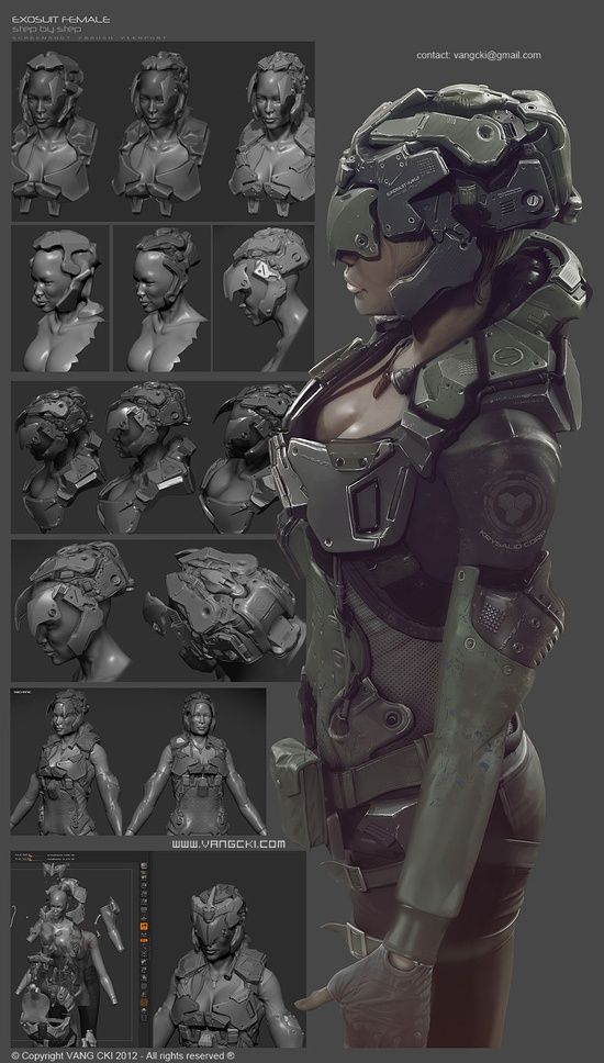 Brushes For Character Design : Best images about zbrush on pinterest horns