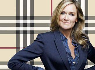 Love this woman! Angela Ahrendts CEO of Burberry