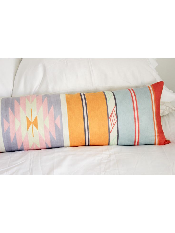 Adana Extra Long Pillow, Sherbert Stripes & Pattern Pinterest Accessories, Adana and Long ...