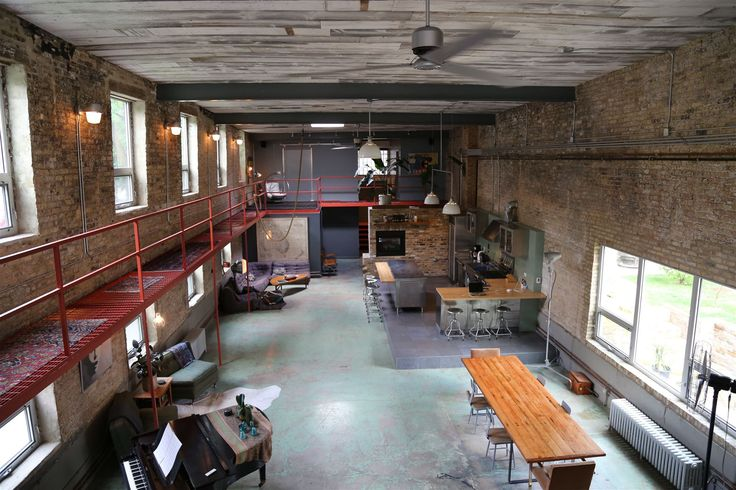 Location Photos of Industrial Arts: Converted Factory Home