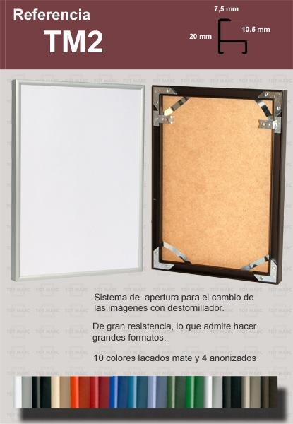 Marcos de Aluminio: TM2