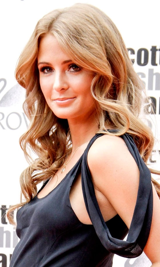Millie Mackintosh Won Serious Hair Credentials With This Wavy Do, 2012