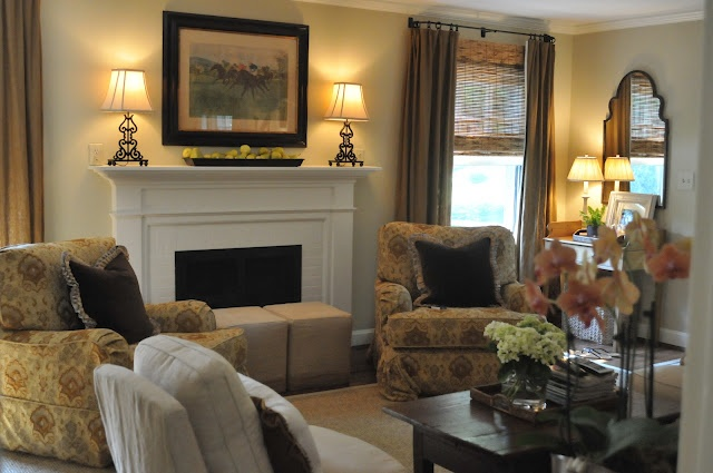 Homey: Interior, Living Room Family, Livingrooms, House Ideas, Decorating Ideas, Fireplaces, Family Rooms, Cozy Living Rooms, Design