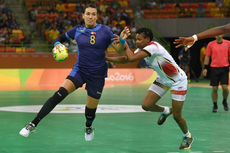 DAY 1:  Women's Handball - Romania vs Angola