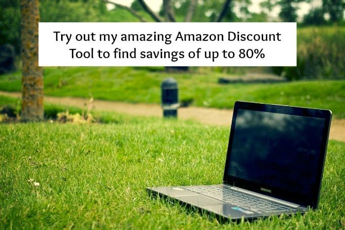Try out my amazing Amazon Discount Tool to find savings of up to 80% across all departments saving you lots of money and time hunting for great deals!