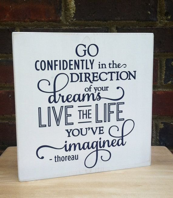 Graduation  Sign Go Confidently  For Teens by TurquoiseWoodWorks, $24.00