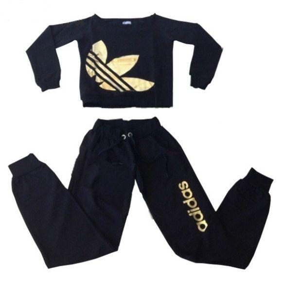adidas jumpsuit womens. free shipping adidas trefoil neon tracksuit sleepwear sweatsuit jogging women shirt pants jumpsuit womens