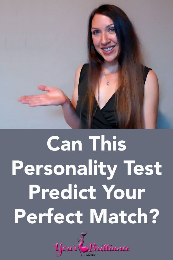 personality test dating website