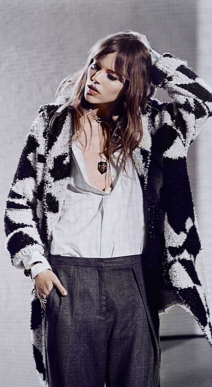 Freja Beha Erichsen by Noam Griegst for the By Malene Birger Fall/Winter 2014 Campaign