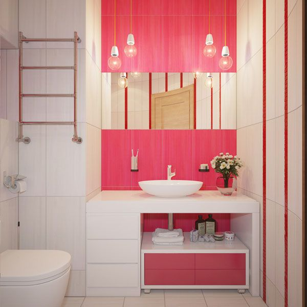 Girls Bathroom Ideas | ideas for girls inside of bedroom minimalist white pink bathroom ideas ...
