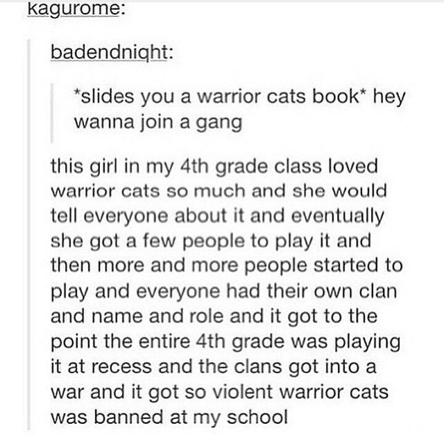 Warriors Come Out To Play Meme: Best 25+ Warrior Cats Ideas On Pinterest