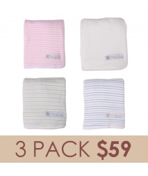 Bamboo Swaddle Wrap 3 Pack