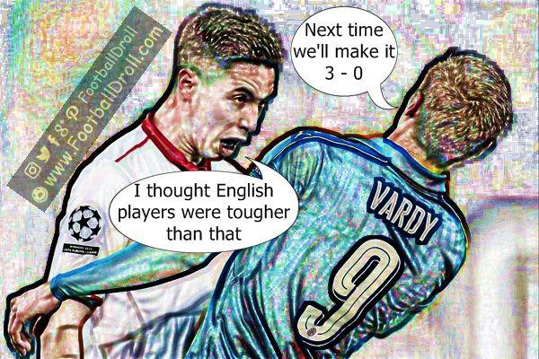 Samir Nasri Thought English Players were Tougher #Nasri #Vardi #Sevilla #Leicester #Barcelona #Wenger #Arsenal #Neymar #ChampionsLeague #UCL #FCBarcelona #Paris #Jokes #Comic #Laughter #Laugh #Football #FootballDroll #Funny #Enrique #PSG #RealMadrid #Messi #FCBLive #FCBPSG #ForçaBarça #LaLiga #PL #Liverpool #Chelsea #Arsenal