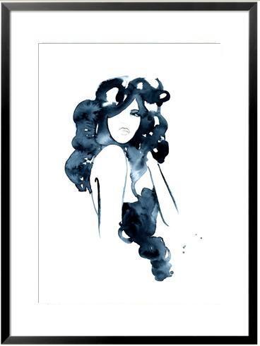 'As I Am'. Giclée Konsttryck av Aurora Kroon