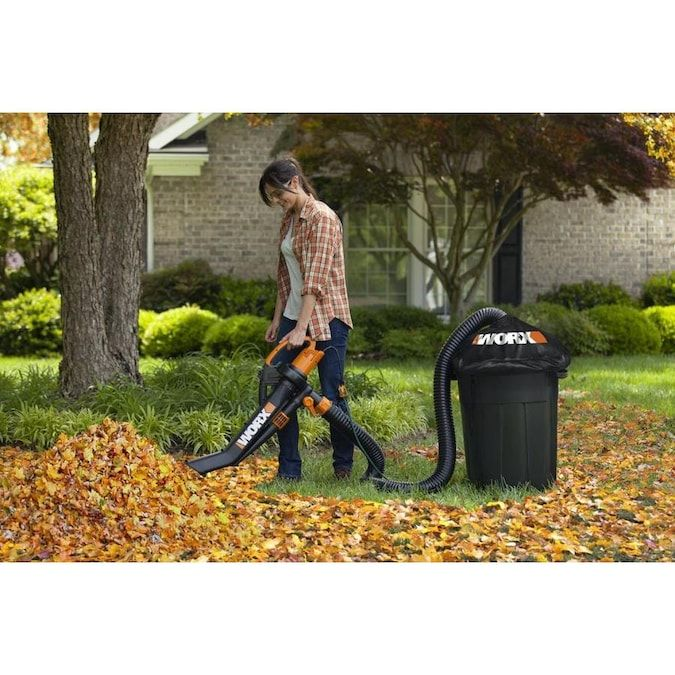 Worx Hose Attachment Kit Lowes Com In 2020 Blowers Composter Outdoor Cleaning