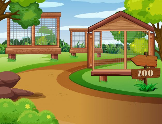 Download Scene Of Zoo With Empty Cages For Free In 2020 Wild Animals Vector Wild Animals Silhouettes Cartoon Zoo Animals Enjoy fast delivery, best quality and cheap price. pinterest