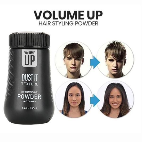 Volume Up Hair Styling Powder Shoopaty In 2020 Hair Powder Hair Volume Powder Hairstyles For Thin Hair