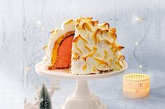 Een ijzig lekkere afsluiting van je kerstdiner, dit prachtige dessert! - Recept - Allerhande