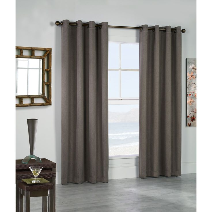 Belize Color Insulated Curtain Panels