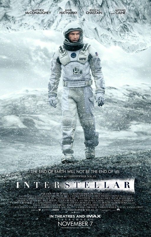 "Interstellar - ""after watching it, I kind of regret not watching it when it was first shown in cinemas. Though I'm happy I got a Blu-ray copy."""