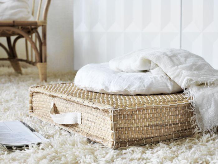 Ces coussins de sol confortables apportent une touche chaleureuse et naturelle à n'importe quelle pièce.