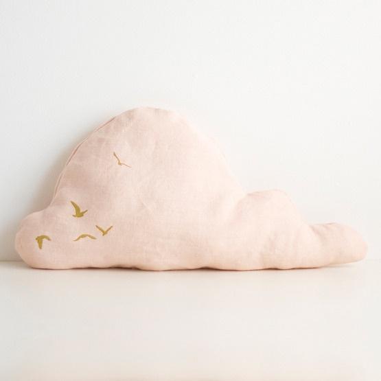 Image of Cloud Cushion - Peach