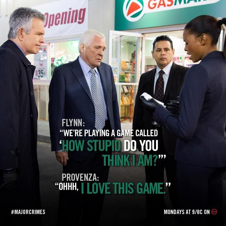 Major Crimes - Lost a few steps since the days of The Closer, but still usually gets it done