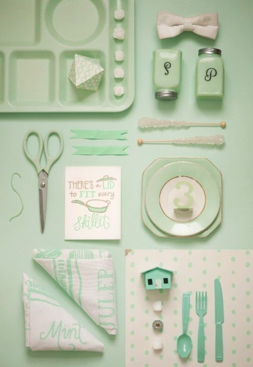 Belle & Union Color Knolling - Mallory Moran Photography