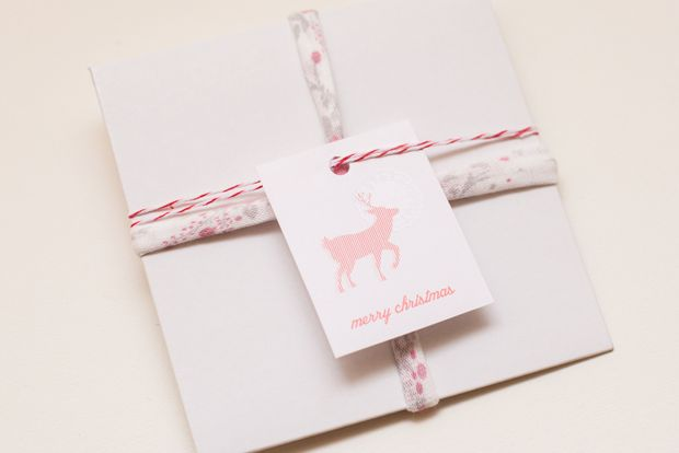 new work // printable gift tags