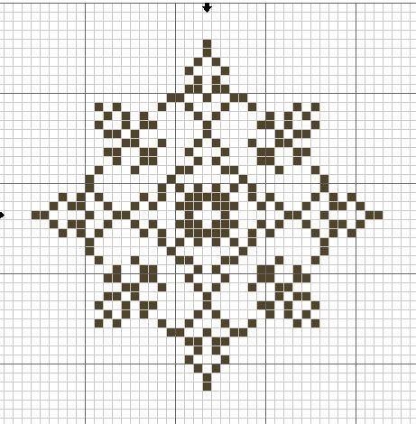 Snowflake  hama perler pattern                                                                                                                                                                                 Mehr