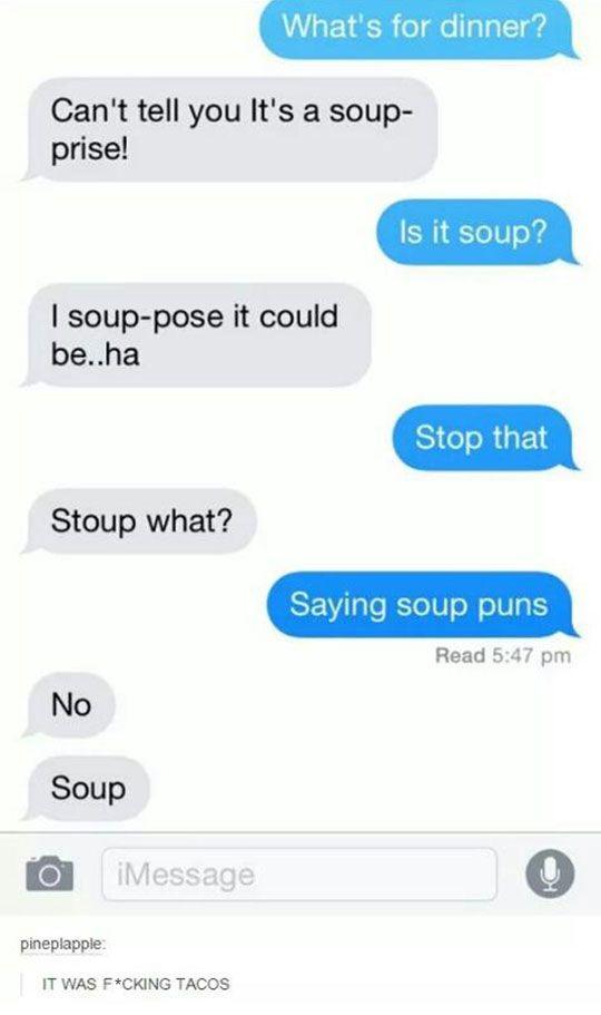 Souper Bad Puns
