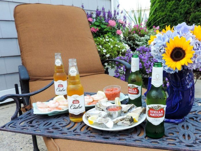 A Seafood Soirée With Stella Artois