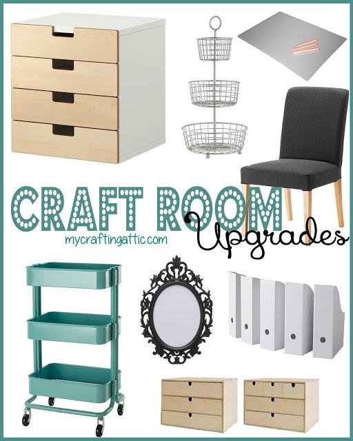 My Crafting Attic: Craft Room Upgrades