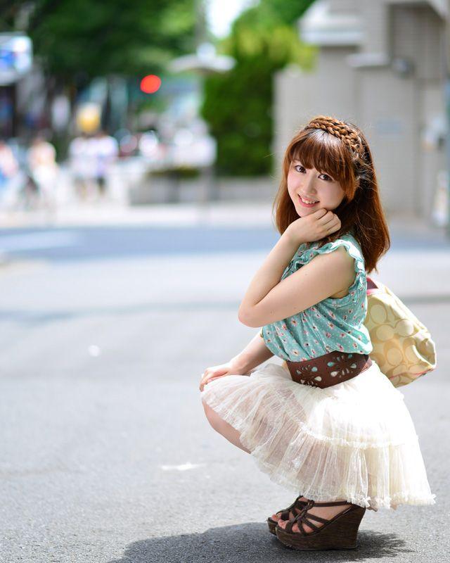 写真:長澤愛紗さん ポートレート 写真