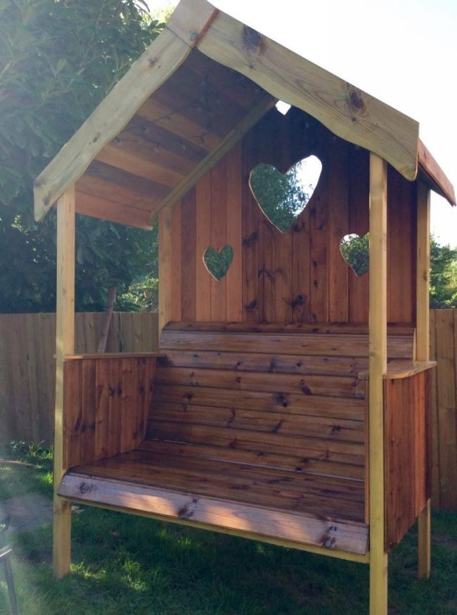 Pallet Gazebo Bench ... Please save this pin.  ... Because for real estate investing - Click on the following link now! http://www.OwnItLand.com