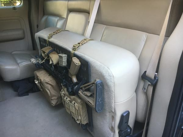 vehicle seat back gun mounts page 1 ar15 com. Black Bedroom Furniture Sets. Home Design Ideas