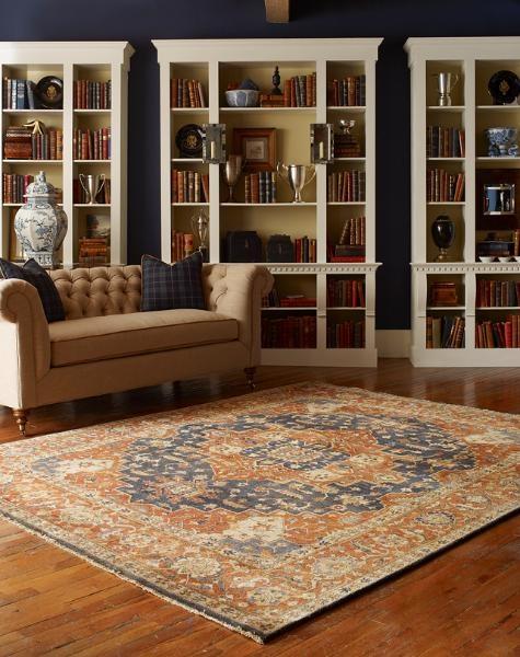 Royal Blue Living Room Rug Cc