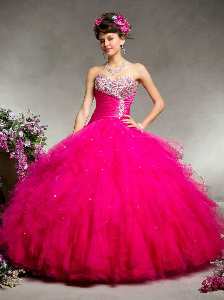 20 best vestidos de 15 años images on Pinterest | Quince dresses, 15 ...