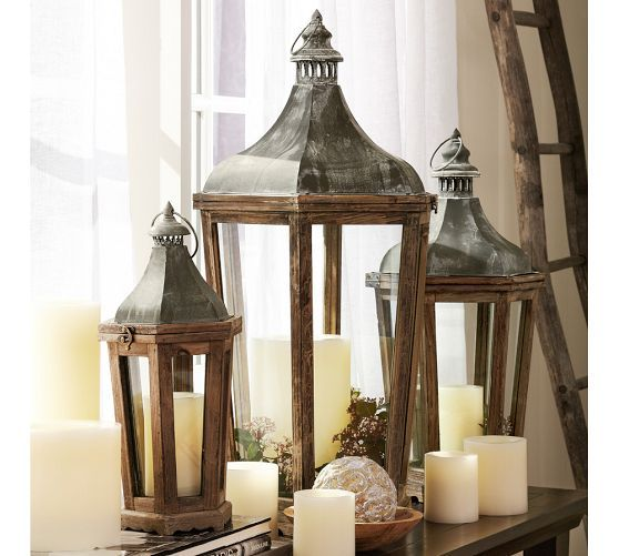 Foyer Lighting Pottery Barn : Park hill lantern pottery barn lanterns pinterest