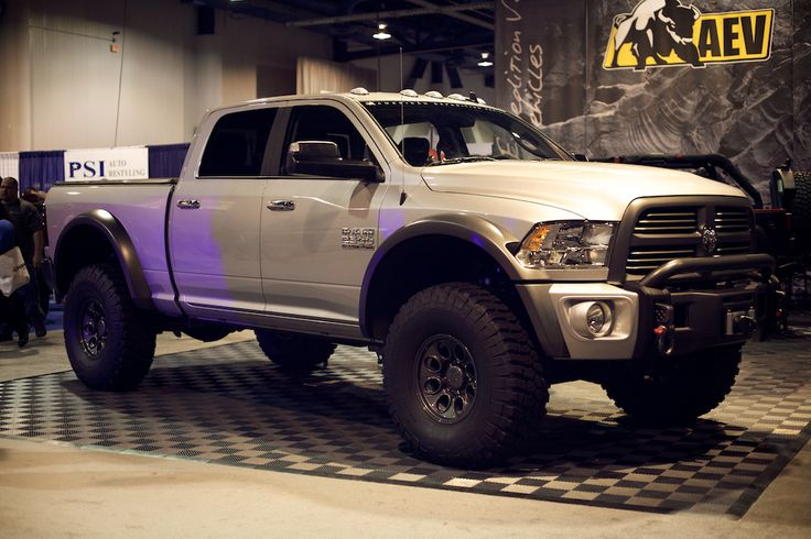 First Look: AEV Dodge Ram 2500 - Dodge - ExPo: Adventure and Overland Travel Enthusiasts